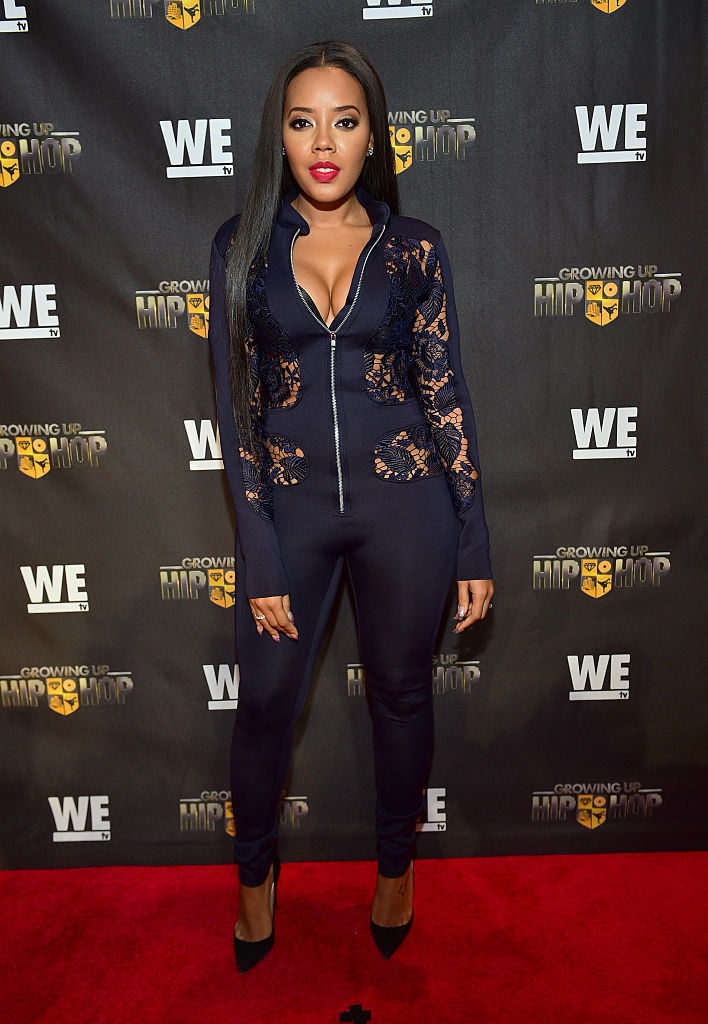"Angela at the ATL Premiere Of WE Tv's ""Growing Up Hip Hop"""