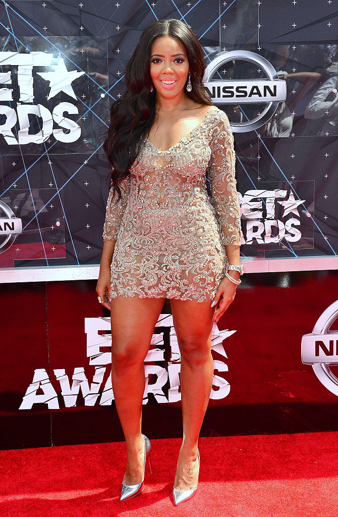 Angela at the 2015 BET Awards