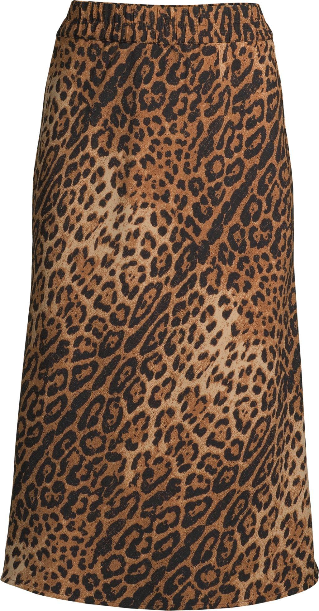 Midi Printed Slip Skirt