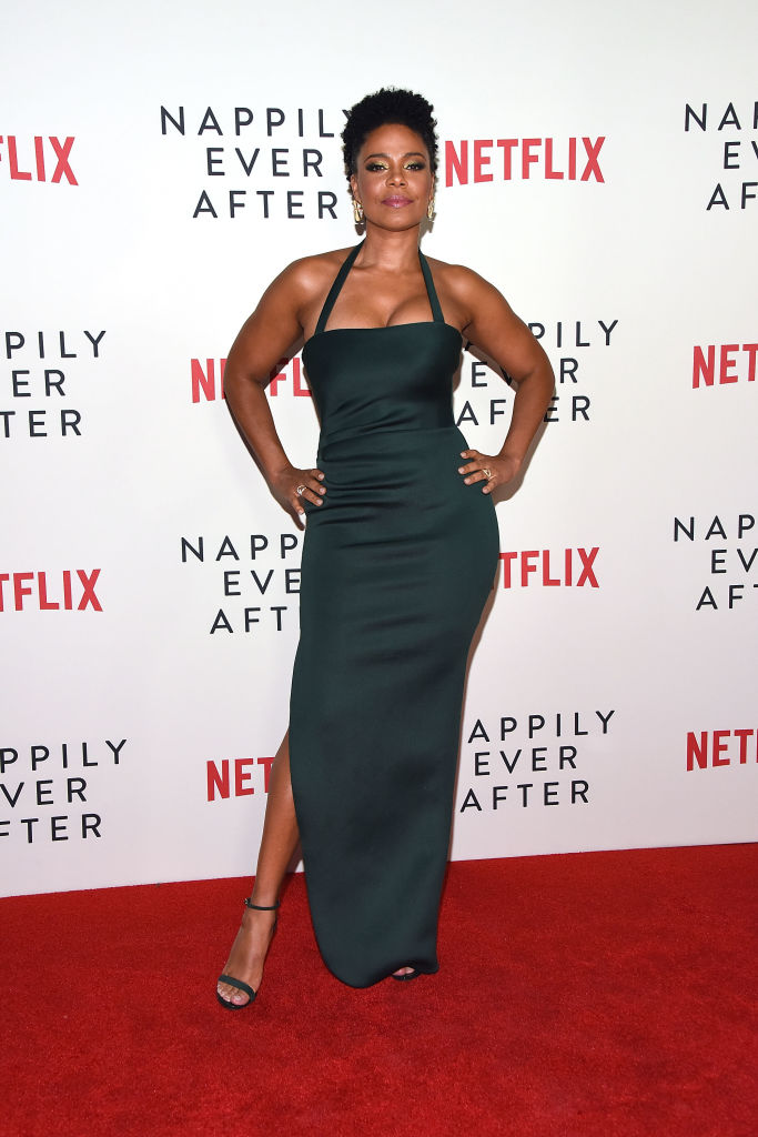 "SANAA LATHAN AT A SCREENING OF ""NAPPILY EVER AFTER"", 2018"