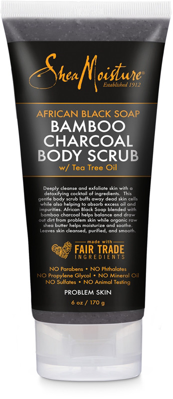 African Black Soap Scrub