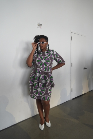 Danielle James at NYFW