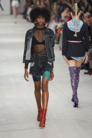 London Fashion Week - Runway - Mark Fast
