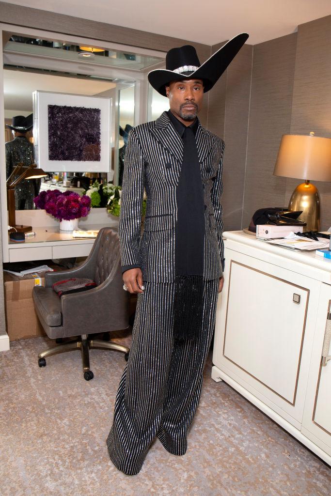 Billy Porter Prepares For The 71st Emmy Awards