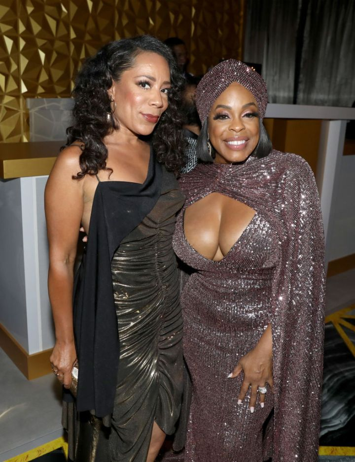 Selenis Leyva and Niecy Nash