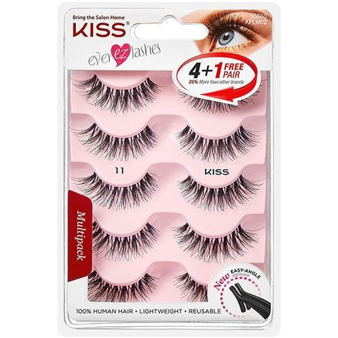 Kiss Ever EZ Lashes #11, Multipack