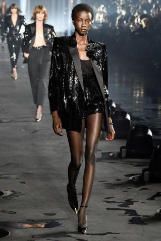 Saint Laurent : Runway - Paris Fashion Week - Womenswear Spring Summer 2020