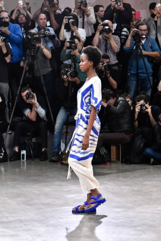 Issey Miyake : Runway - Paris Fashion Week - Womenswear Spring Summer 2020