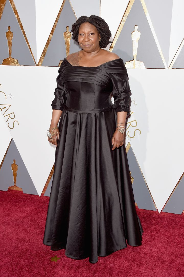 WHOOPI GOLDBERG AT THE 88TH ANNUAL ACADEMY AWARDS SHOW, 2016