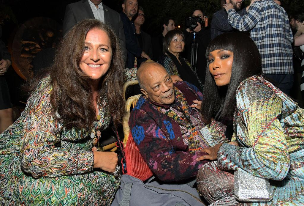 Quincy Jones, Angela Missoni, Luca Missoni And Richard Christiansen Celebrate The Release Of Missoni: The Great Italian Fashion