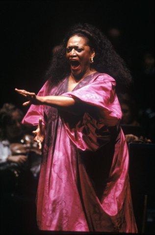 Opera Singer Jessye Norman Singing In Nantes...