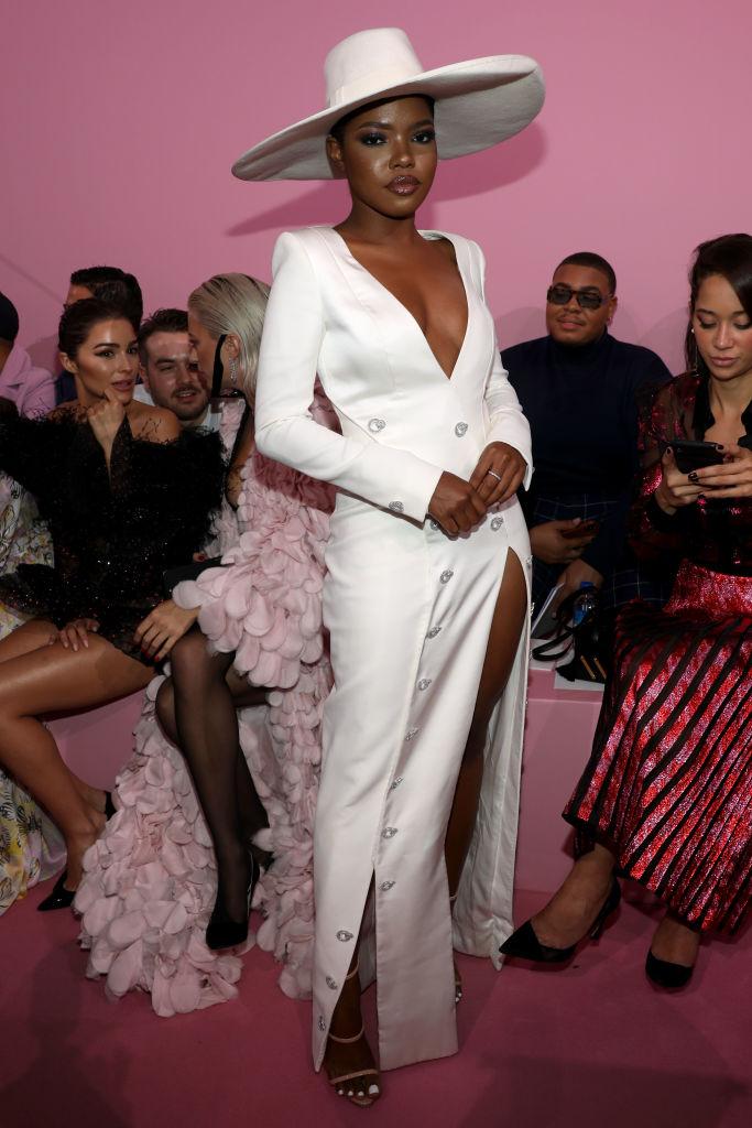 Ralph & Russo : Front Row - Paris Fashion Week - Womenswear Spring Summer 2020