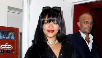 Celebrity Sightings : Paris Fashion Week - Womenswear Spring Summer 2020 : Day Four