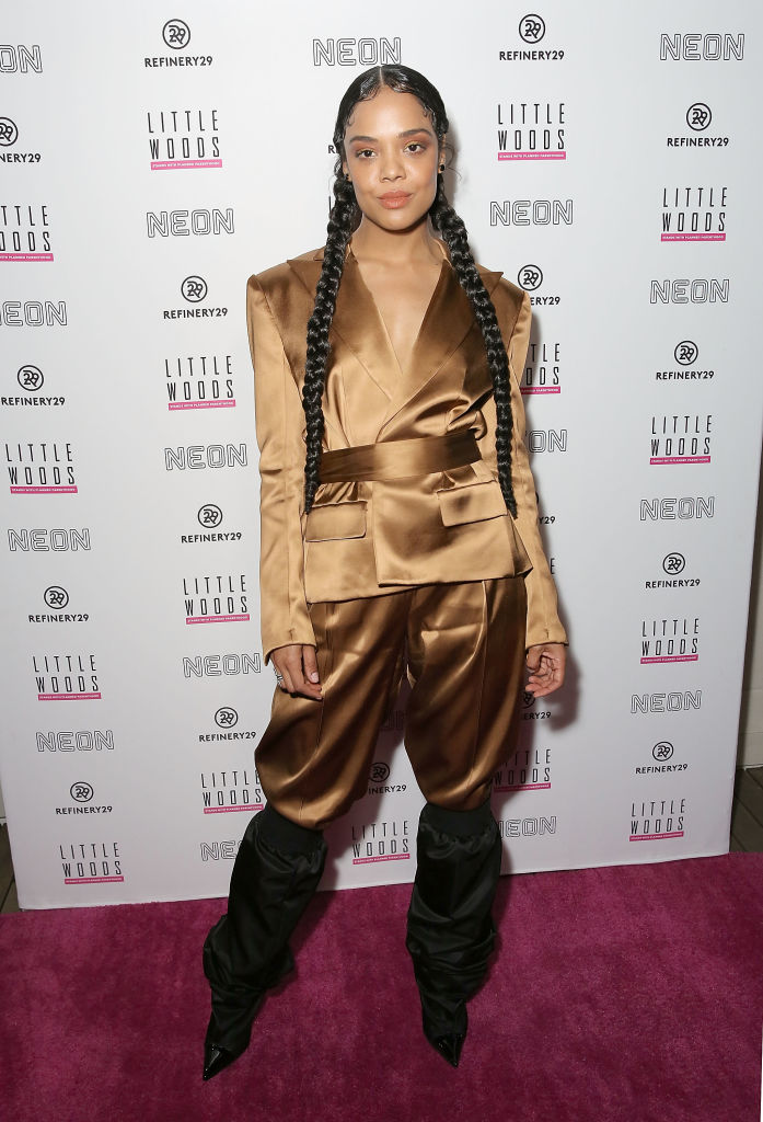"""TEEA THOMPSON AT THE 2019 PREMIERE OF """"LITTLE WOODS"""""""