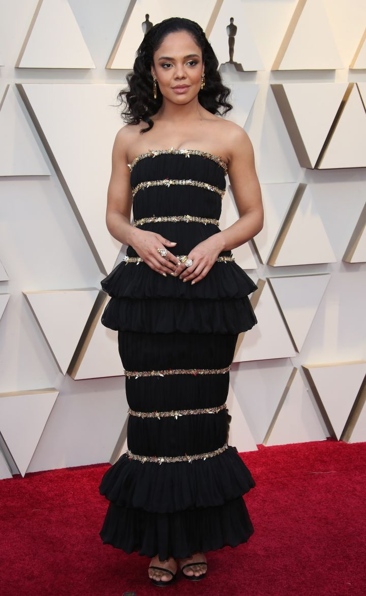 TESSA THOMPSON AT THE 91st ANNUAL ACADEMY AWARDS IN 2019