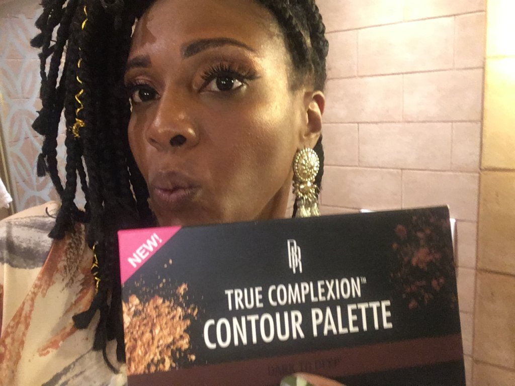 Black Radiance True Complexion Deep To Dark Contour Palette