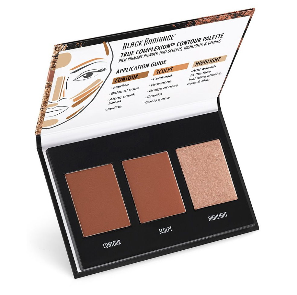 Black Radiance True Complexion Light To Medium Contour Palette