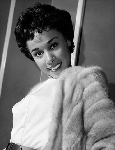 Jazz Singer and Actress Diahann Carroll