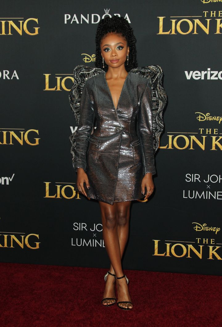 At The Lion King Premiere