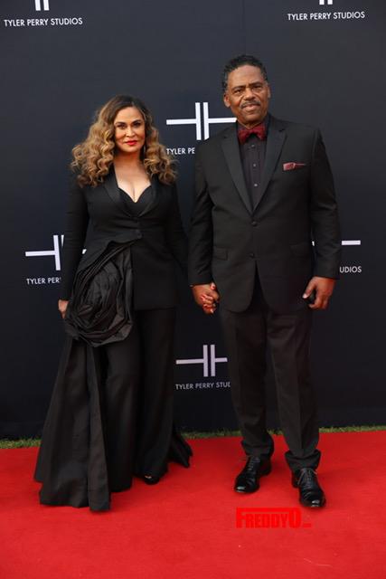 Tina Knowles Lawson & Richard Lawson
