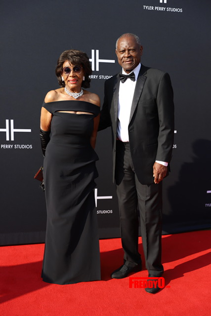 Rep. Maxine Waters & Sid Williams