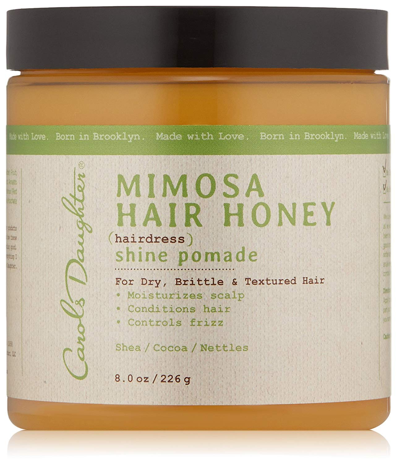 Carol's Daughter Mimosa Hair Honey Shine Pomade For Dry Hair and Textured Hair