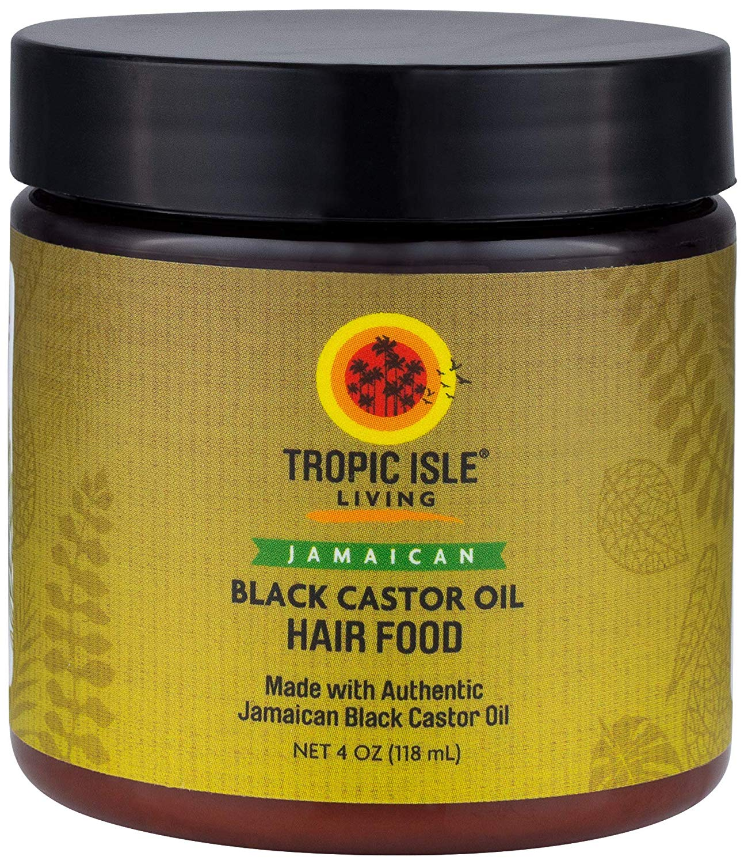 Tropic Isle Living Jamaican Black Castor Oil Hair Food