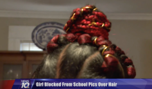 8-Year-Old Banned From Picture Day Bc Of Red Braid