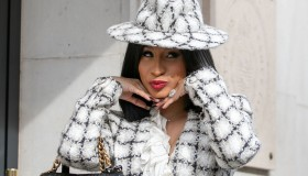 Celebrity Sightings : Paris Fashion Week - Womenswear Spring Summer 2020 : Day Night