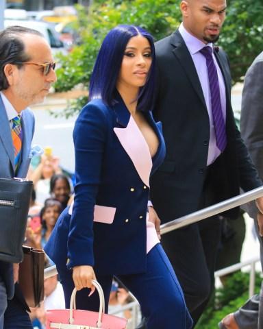 Celebrity Sightings In New York City - June 25, 2019