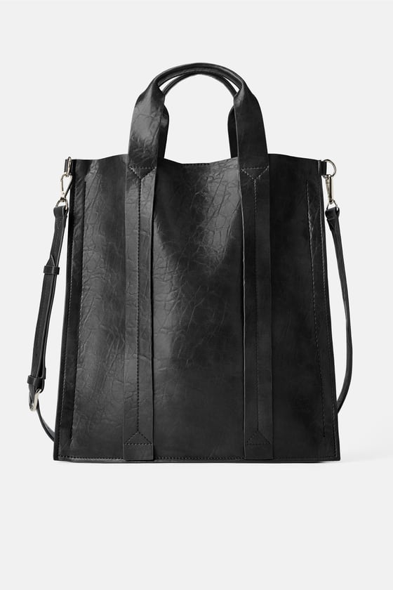 Zara Flat Shopper