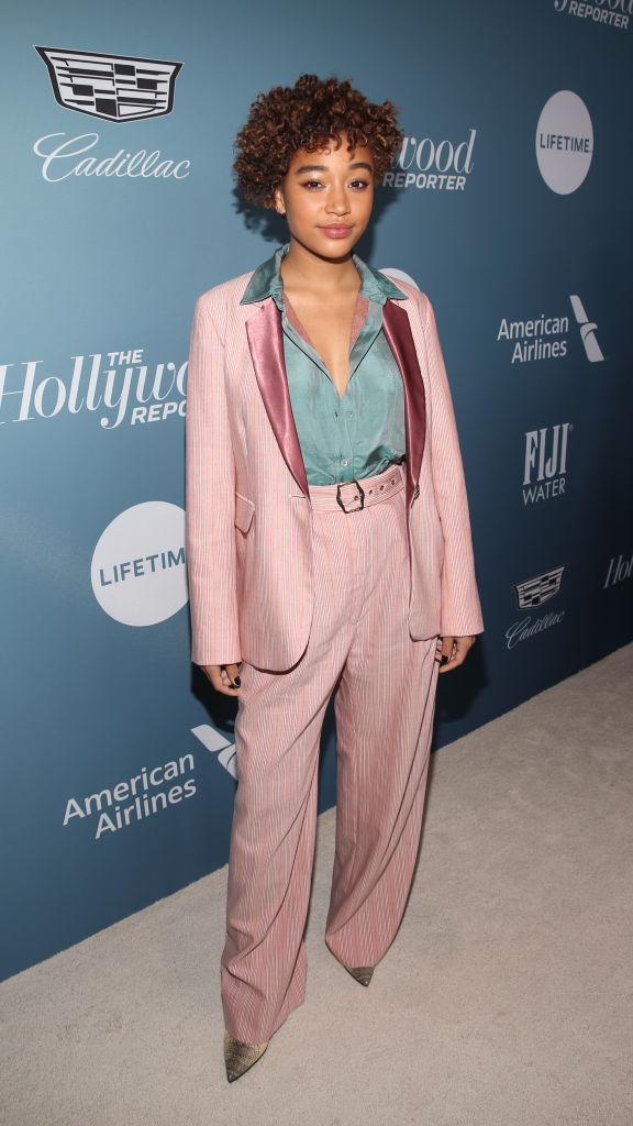 AMANDLA STENBERG AT THE HOLLYWOOD REPORTER'S POWER 100 WOMEN IN ENTERTAINMENT EVENT, 2019