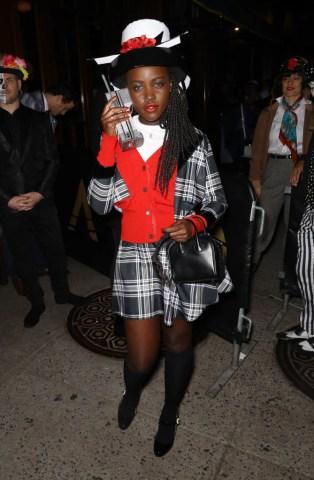 Celebrity Sightings In New York City - October 31, 2018