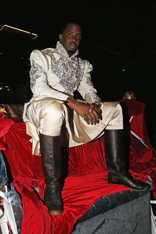 Puff Daddy's Emperor's Ball Celebrates The Launch Of Ciroc Apple Infused Vodka At Marquee New York Halloween Night