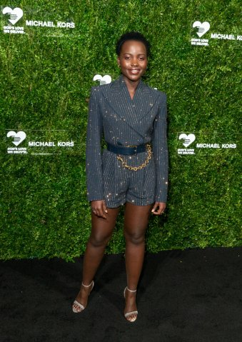 Lupita Nyong'o attends the 13th Annual Golden Heart Awards...