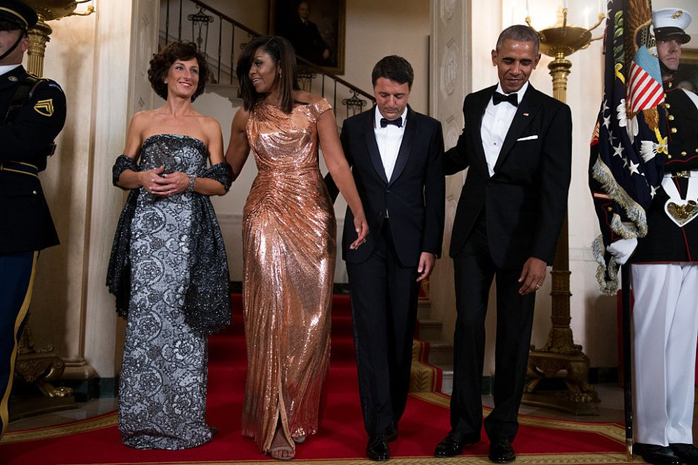US President Barack Obama hosts Italian Prime Minister Matteo Renzi for official visit and state dinner