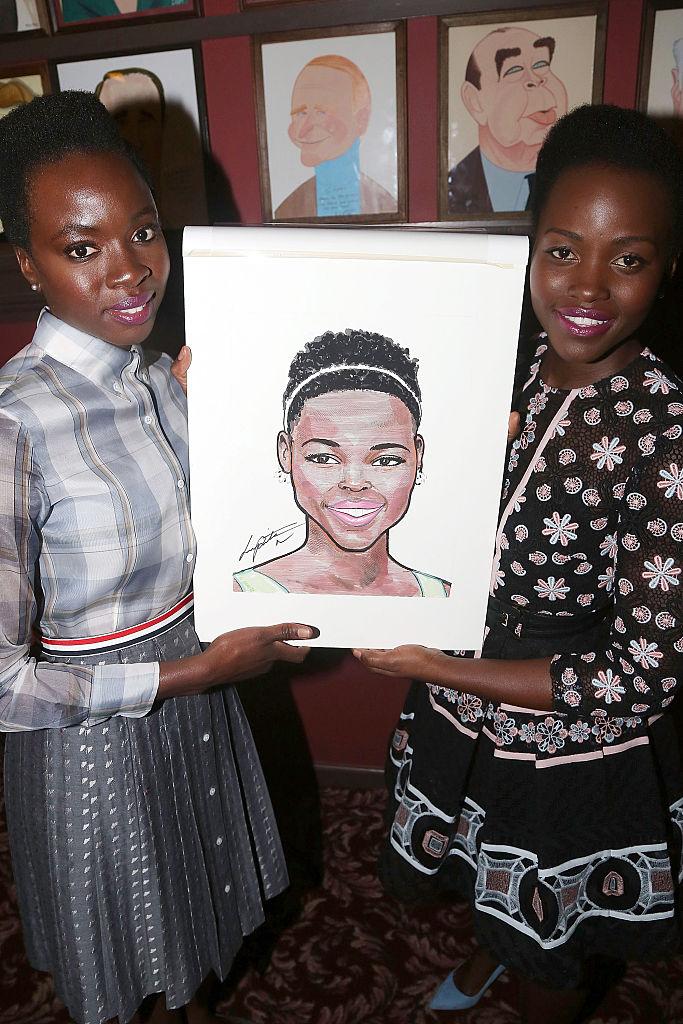 Lupita Nyong'o Caricature Unveiling, 2016