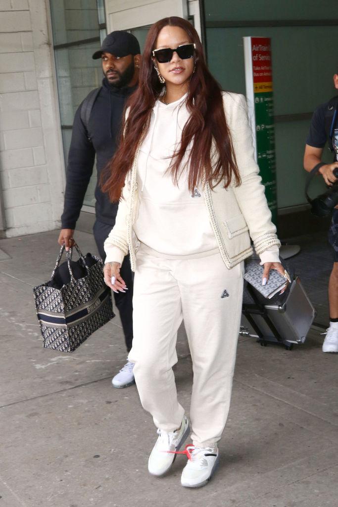 Rihanna JFK Airport, 2019