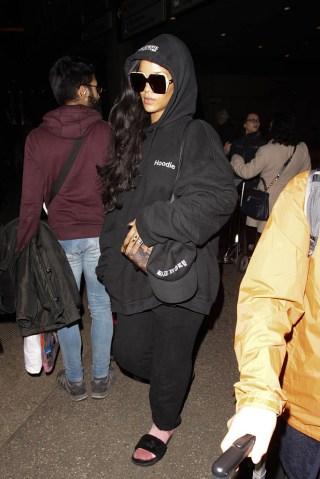 Celebrity Sightings In Los Angeles - December 16, 2016