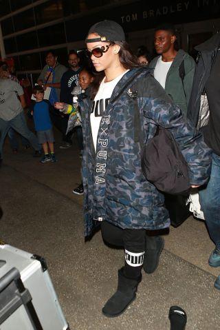 Celebrity Sightings In Los Angeles - January 23, 2016