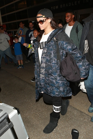 Celebrity Sightings In Los Angeles - January 23, 2016