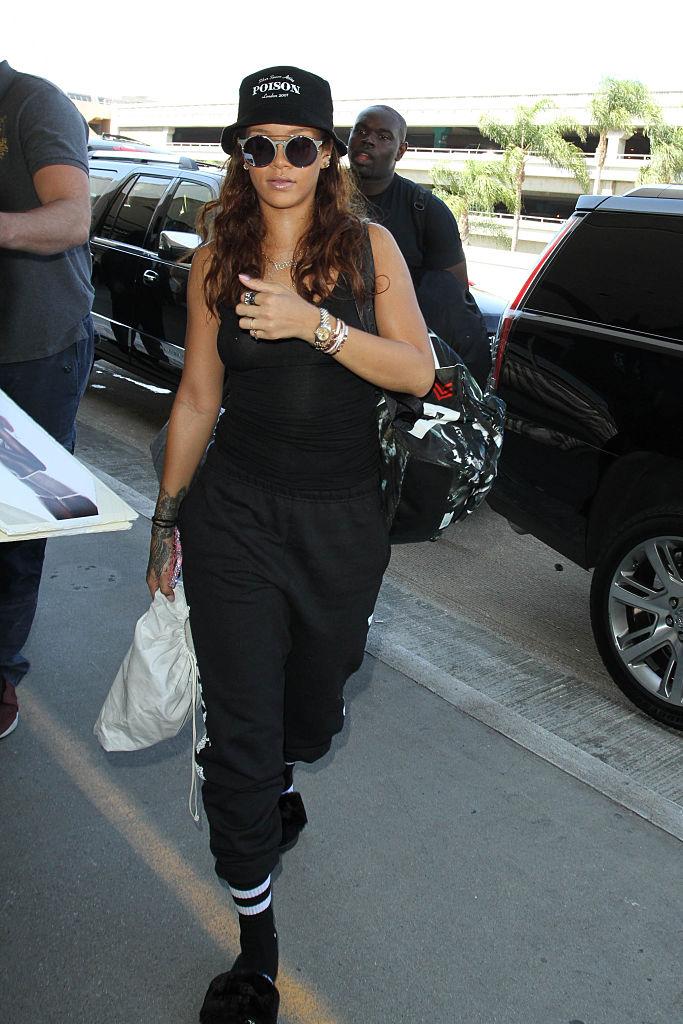 Rihanna, LAX, 2015