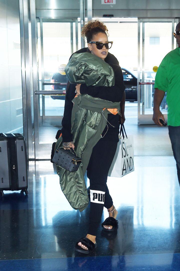 Rihanna, JFK, 2015
