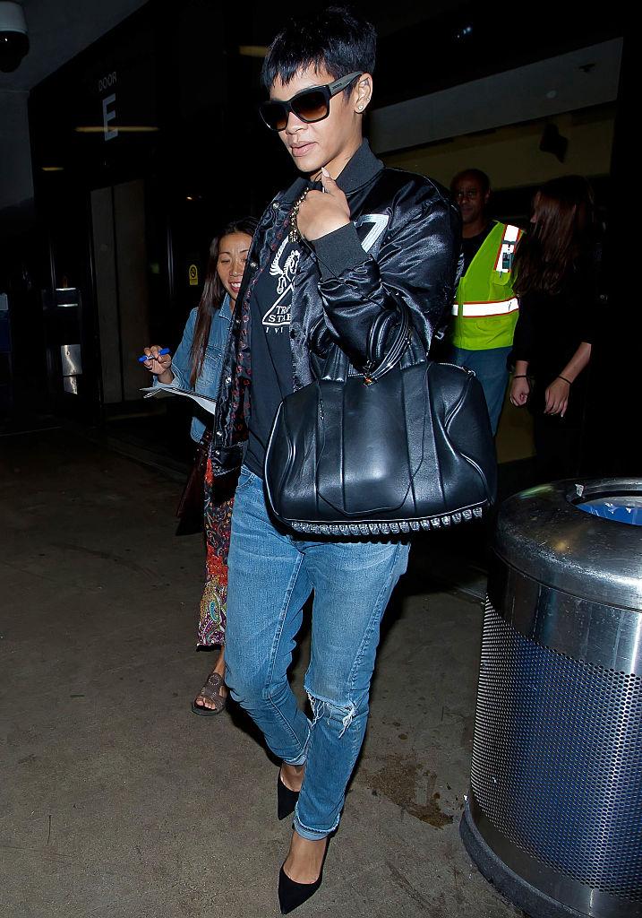 Rihanna, LAX, 2012