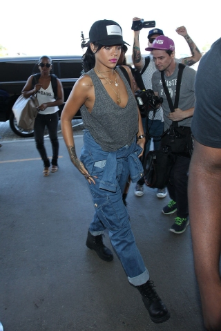 Celebrity Sightings In Los Angeles - September 30, 2014