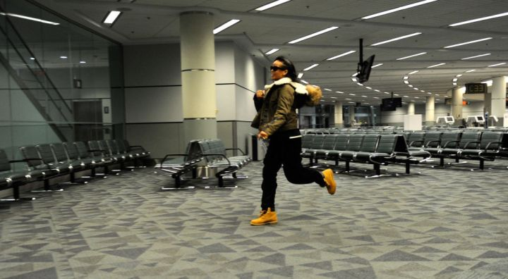 Rihanna At Toronto Airport In 2012