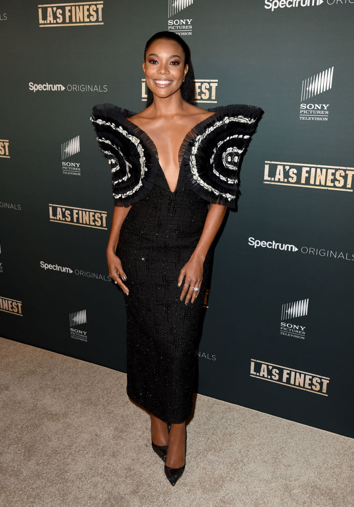 "GABRIELLE UNION AT THE PREMIERE OF SPECTRUM'S ORIGINALS ""L.A.'S FINEST"", 2019"