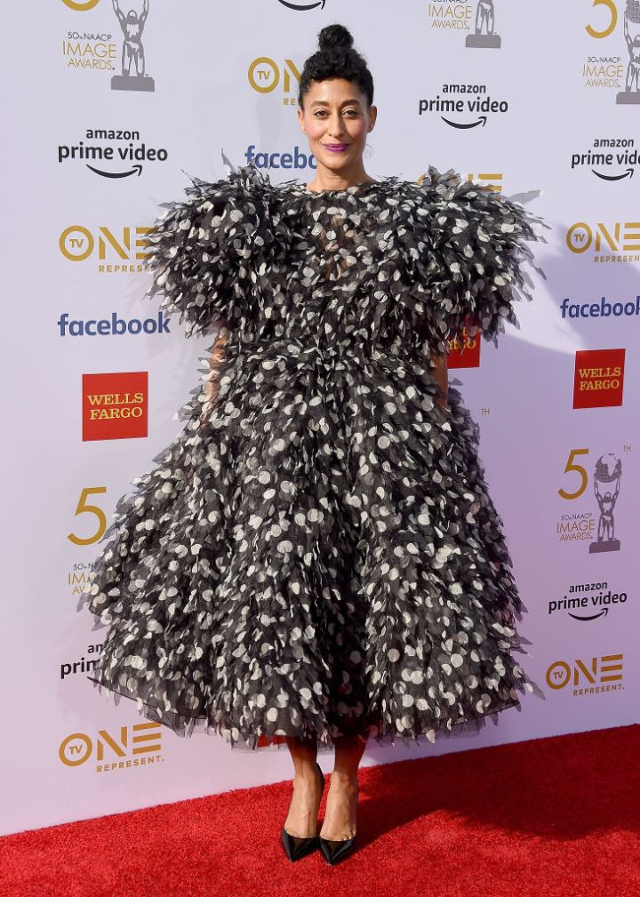 TRACEE ELLIS ROSS AT THE 50TH NAACP IMAGE AWARDS, 2019