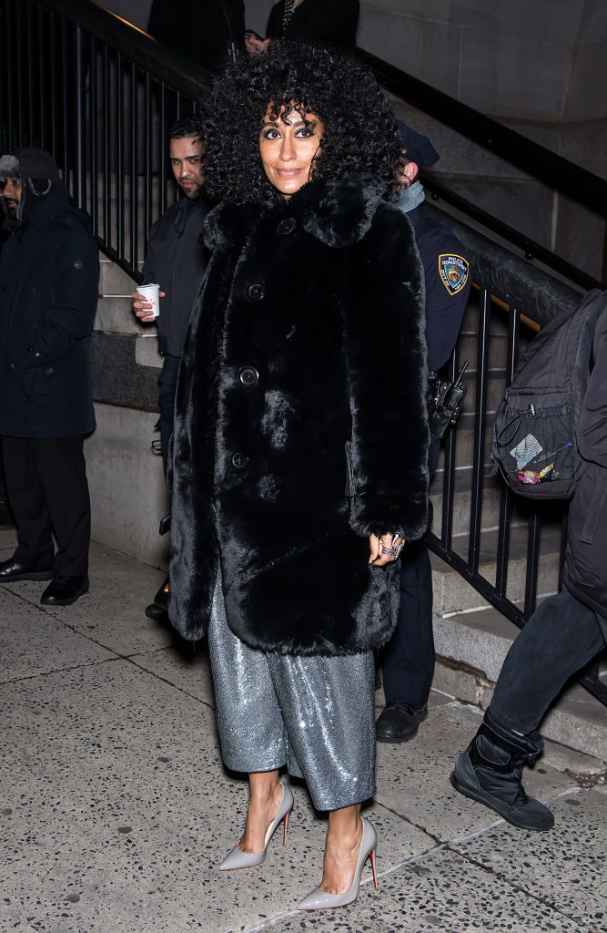 TRACEE ELLIS ROSS ON THE STREETS OF NEW YORK, 2019