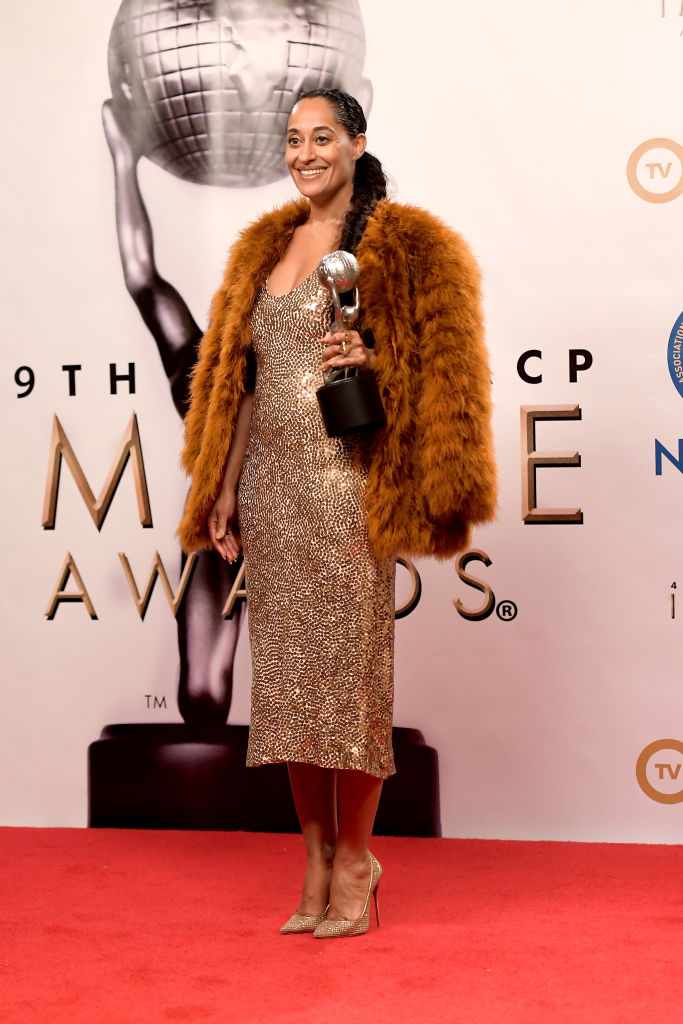 TRACEE ELLIS ROSS AT THE 49TH NAACP IMAGE AWARDS, 2019